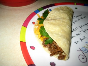 Make-Ahead Meal/Snack: Tacos
