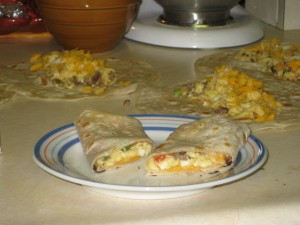 Make-Ahead: Breakfast Burritos