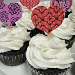 Chocolate Cupcakes with Vanilla Bean Cupcakes