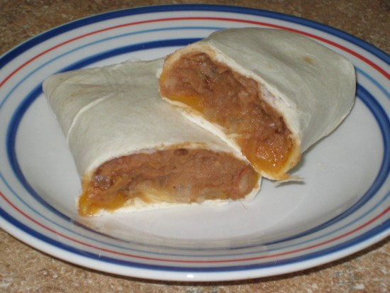Bean and Cheese Burritos