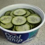 Summer Refrigerator Pickles