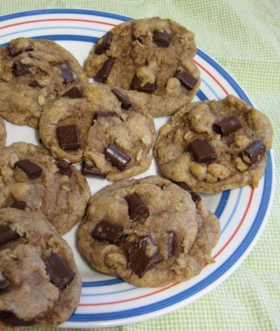 Chocolate Chip Cookies (Healthified)