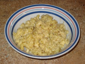 Three-Cheese Mac and Cheese