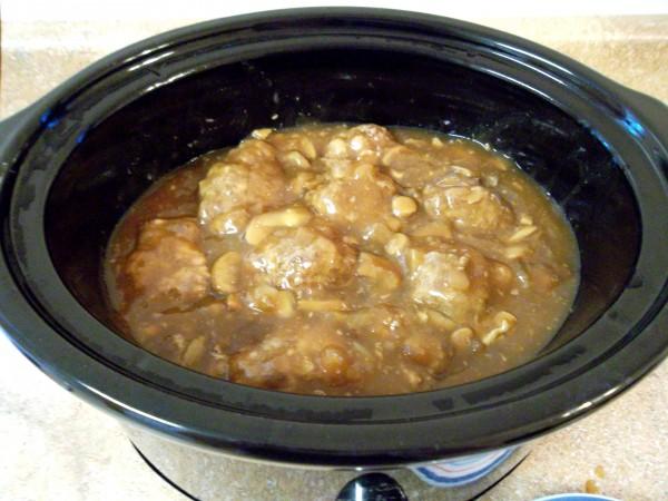 Salisbury Steak: Crock Pot