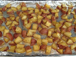 Roasted Red Potatoes with Rosemary