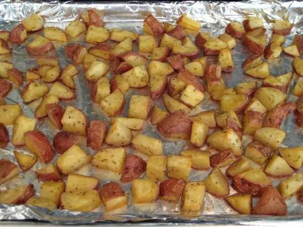 how to make rosemary red potatoes