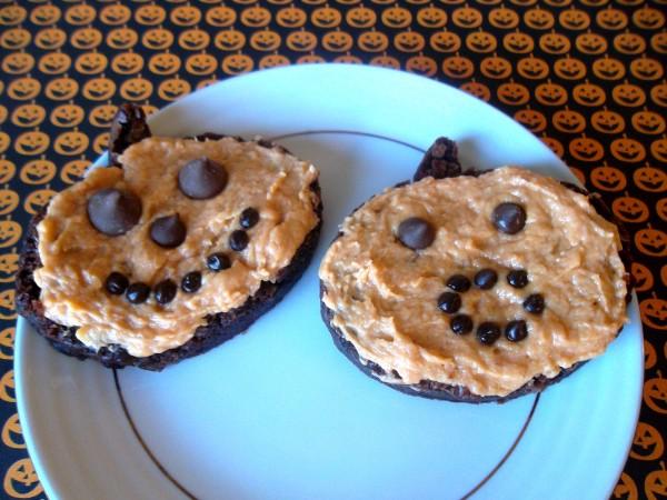 Jack-O-Lantern Brownies