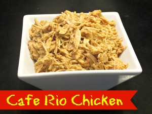 Cafe Rio Chicken {Crock Pot}