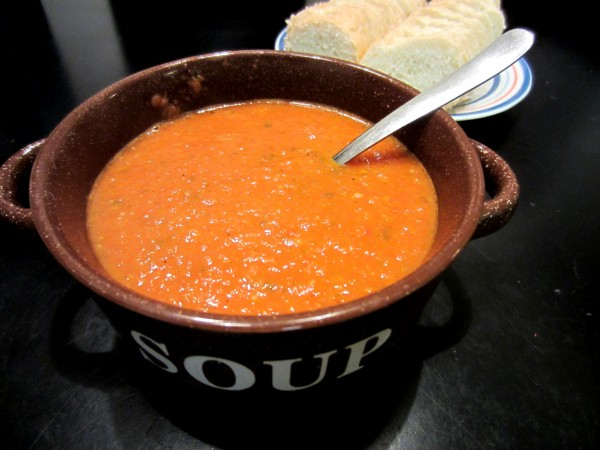 Roasted Tomato Basil Soup - Love to be in the Kitchen