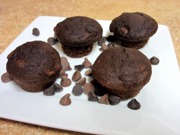 Triple Chocolate Muffins