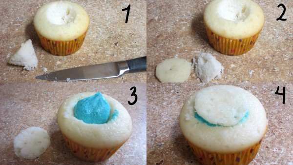 Gender Reveal Cupcakes - Love to be in the Kitchen