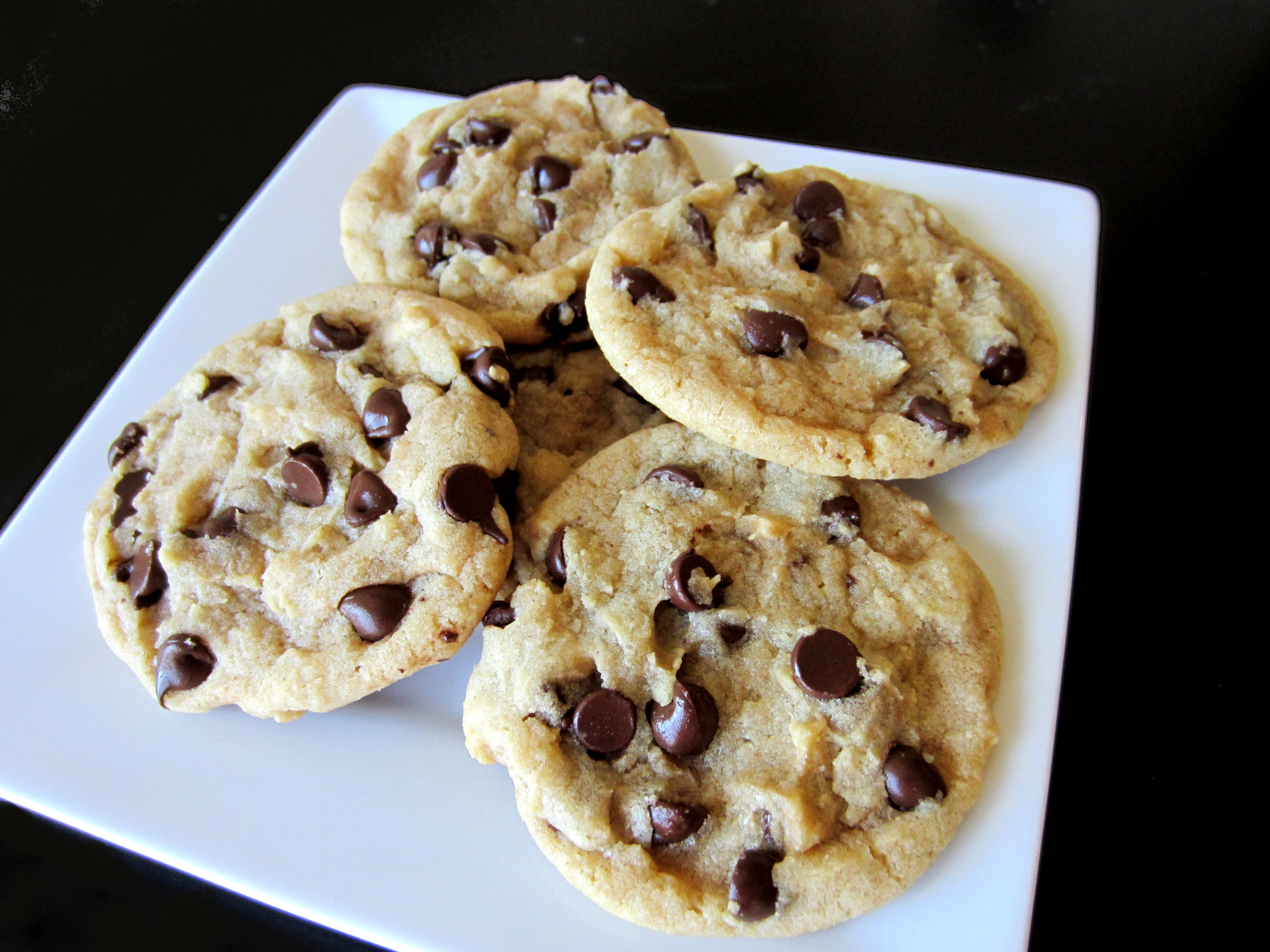 Thick & Chewy Chocolate Chip Cookies - Love to be in the ...
