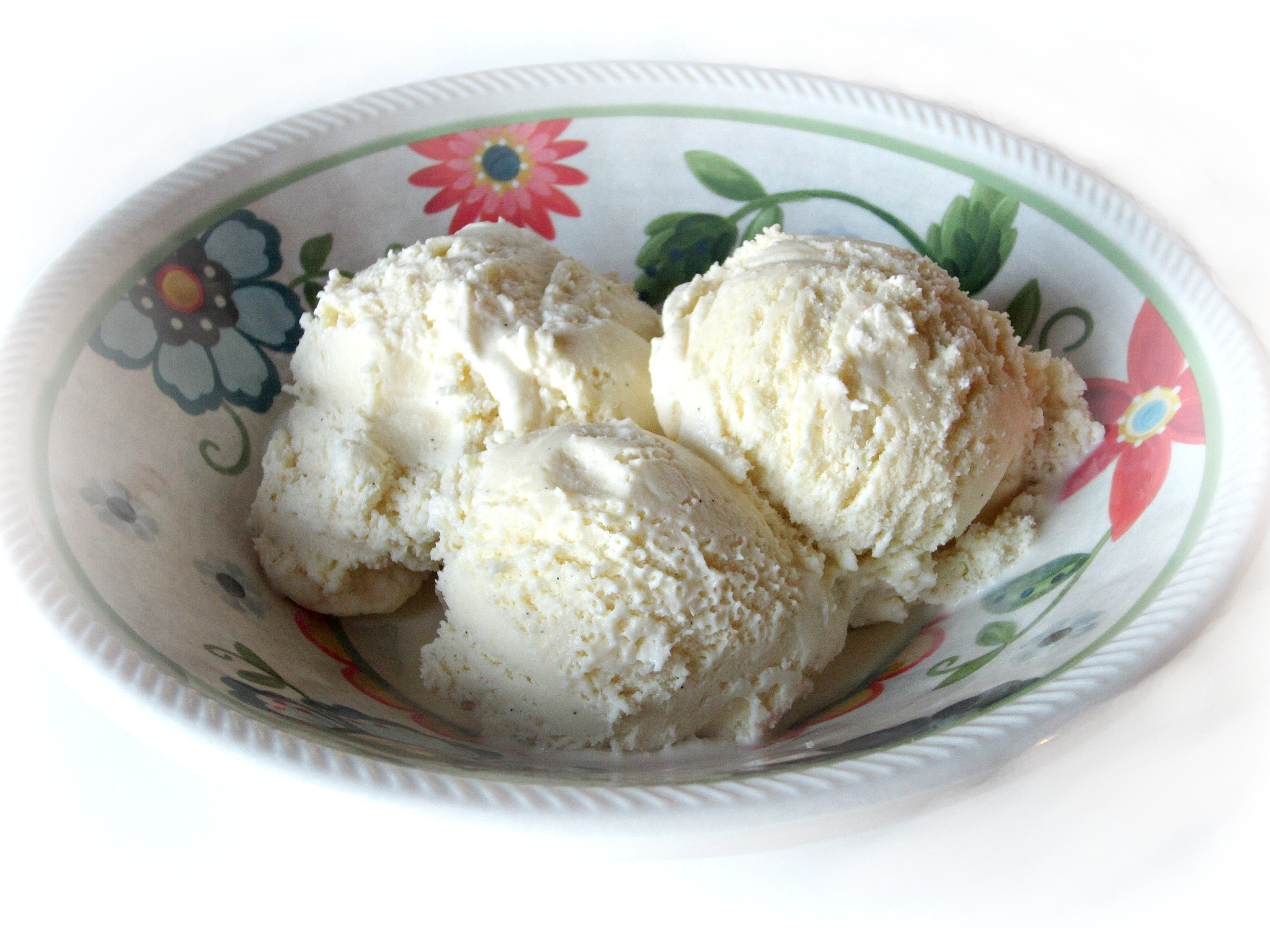 Vanilla Bean Ice Cream {French Style}