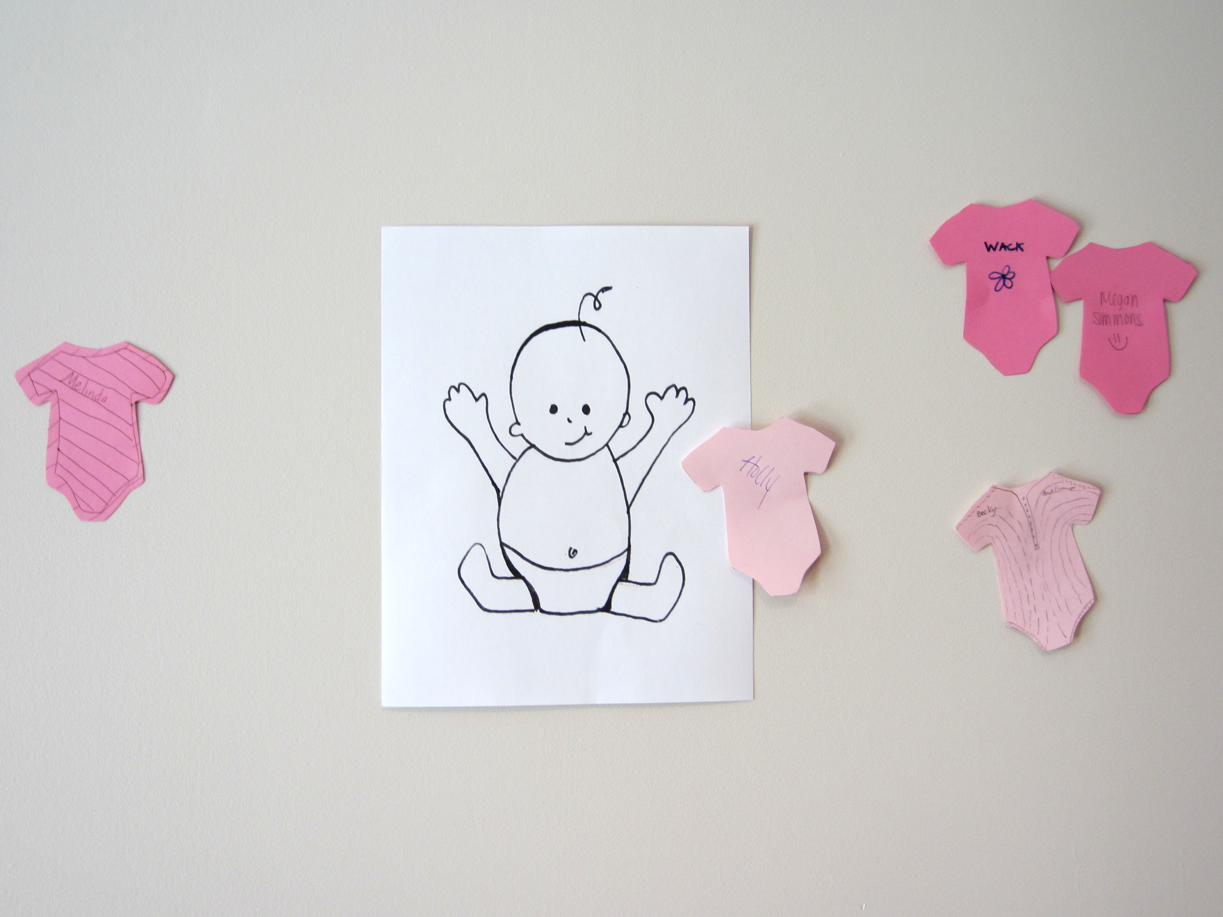 Pin The Onesie On The Baby