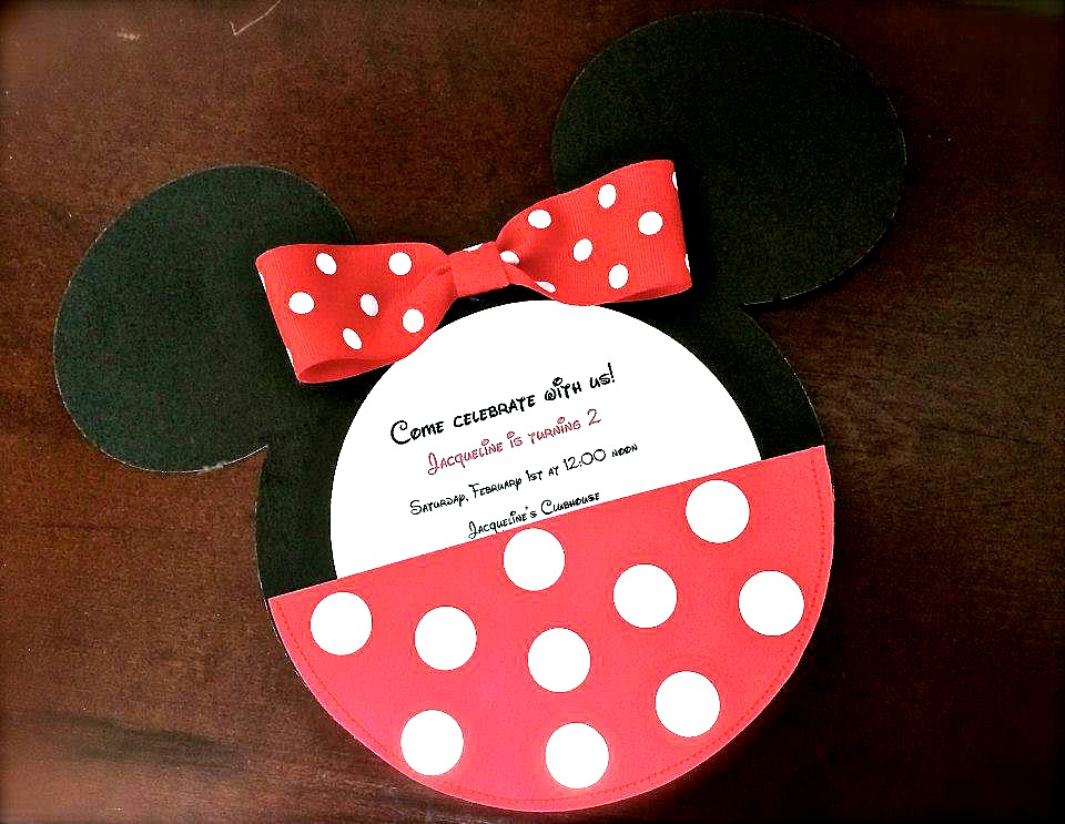 mickey mouse invitations - love to be in the kitchen, Birthday invitations