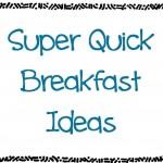 Bkfast Ideas
