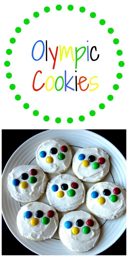 Olympic Cookies #Olympics