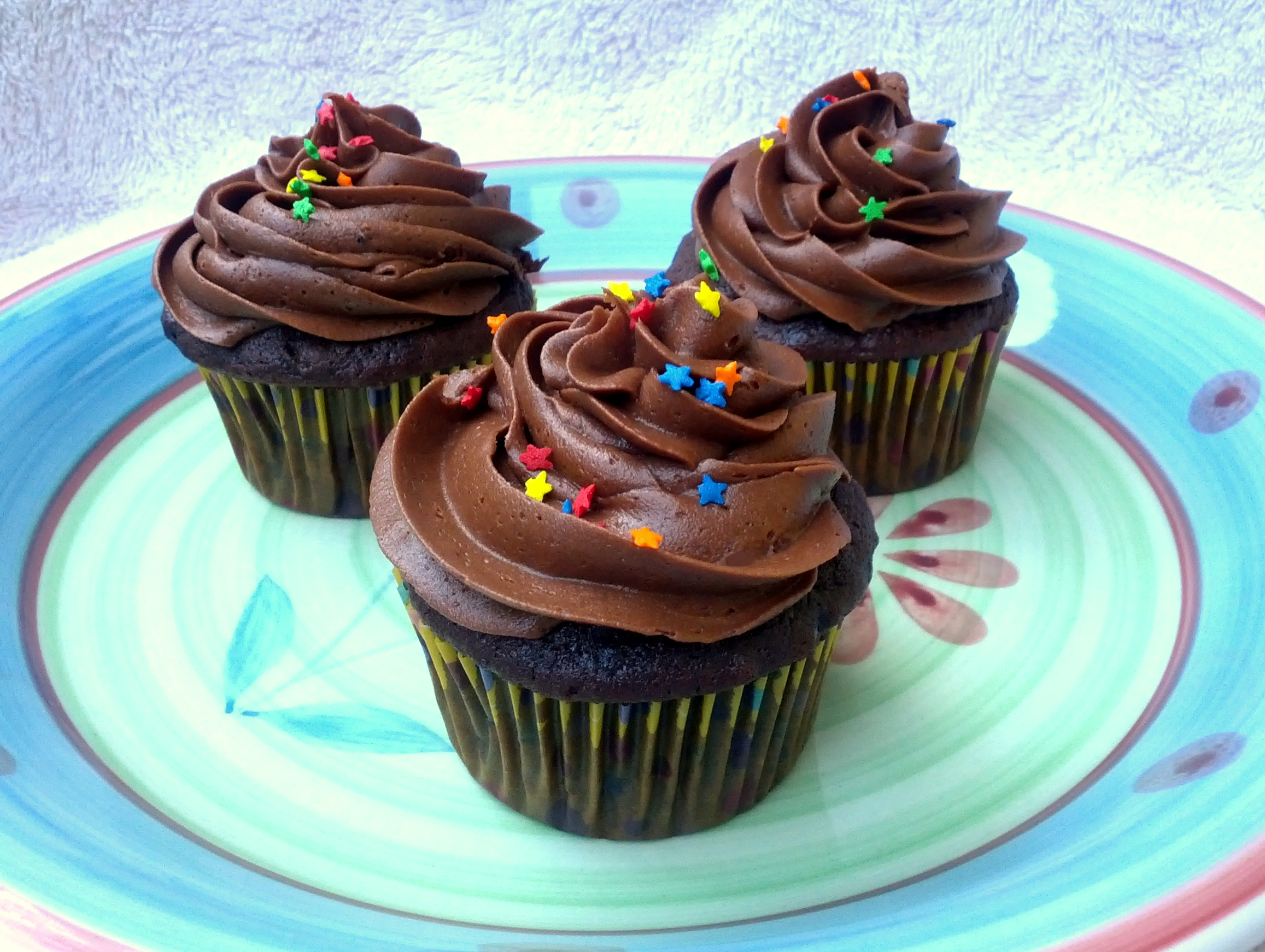 chocolate buttercream for cupcakes