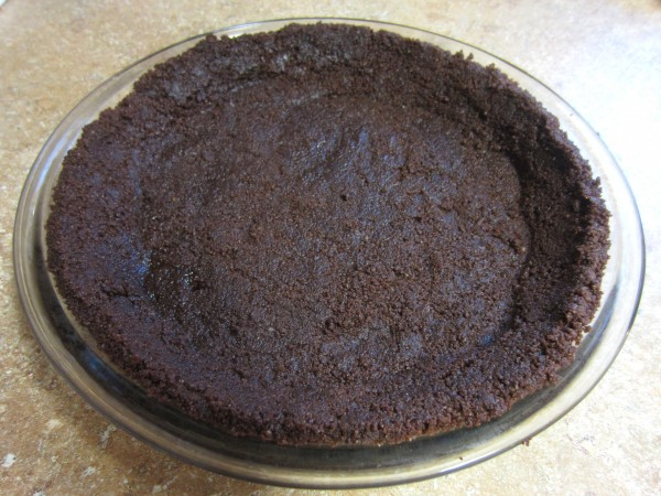 Homemade Chocolate Cookie Pie Crust