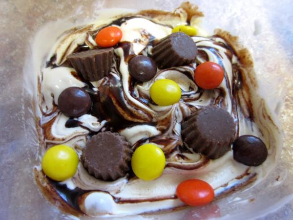 Peanut Butter Swirl Ice Cream
