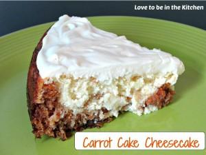 Carrot Cake Cheesecake {Cheesecake Factory Copycat}