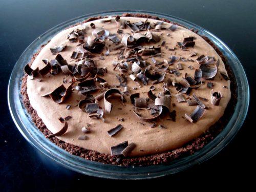 Lighter Chocolate Pie
