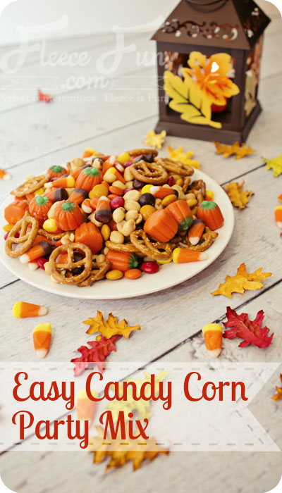 Easy Candy Corn Party Mix