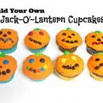 Build Your Own Jack-O'-Lantern Cupcakes