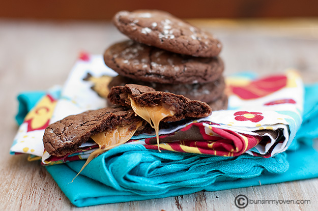 Rolo Cake Mix Cookies
