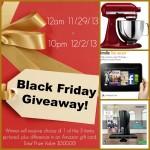 Black Friday Giveaway!