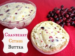 Cranberry Citrus Butter