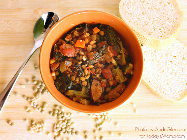 Healthy Kale Sausage Stew