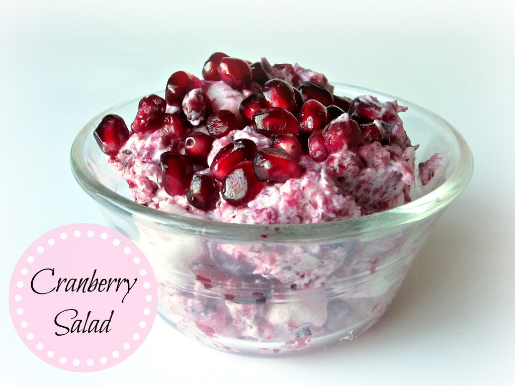 Cranberry Salad - Love to be in the Kitchen
