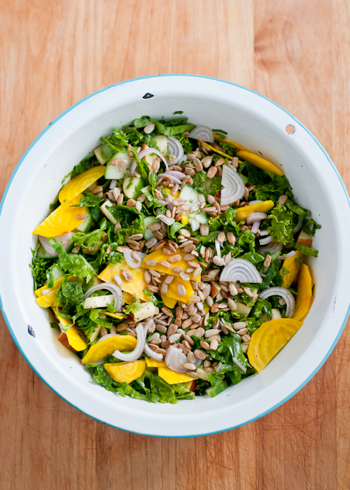 Loaded Raw Kale Salad