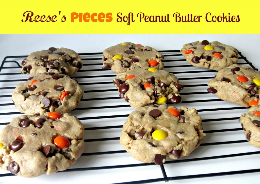 Reeses Pieses Soft Peanut Butter Cookies