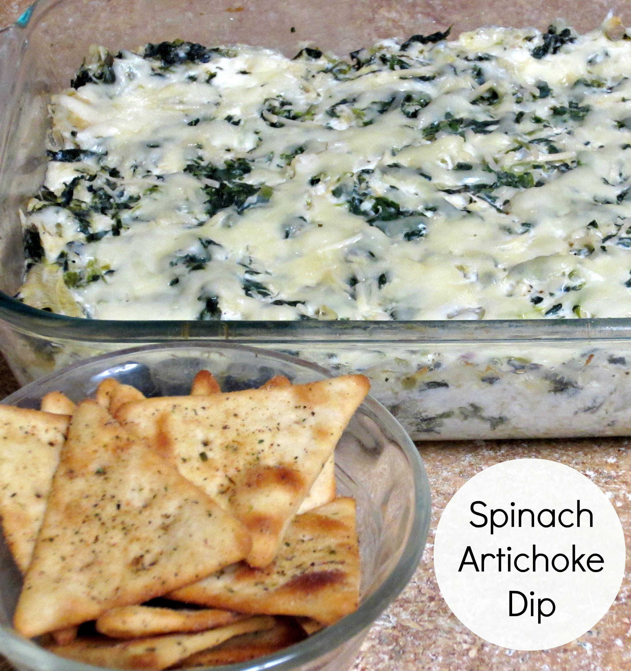 Lighter Artichoke Dip Spinach Artichoke Dip
