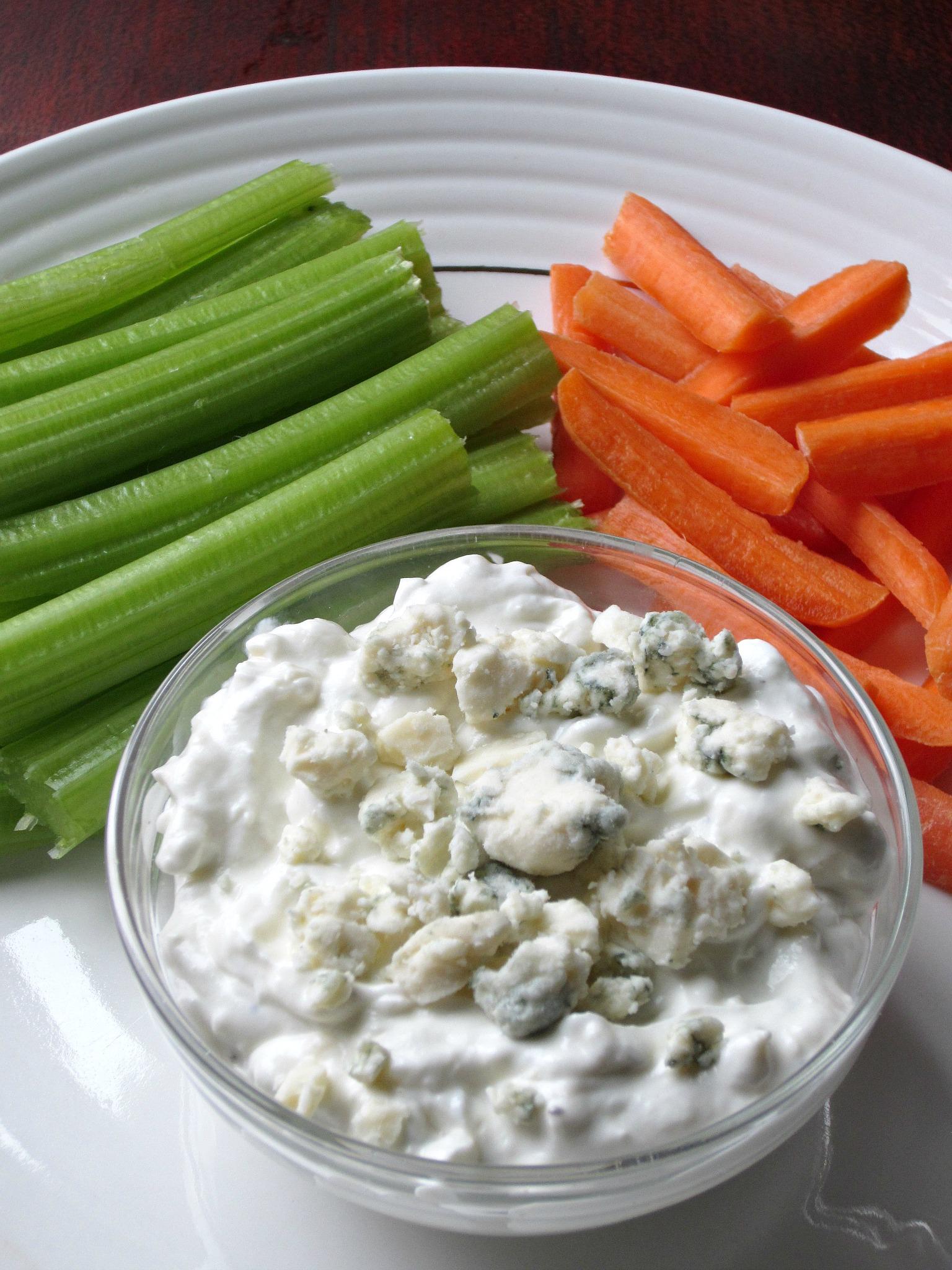 Blue Cheese Dip Recipe — Dishmaps