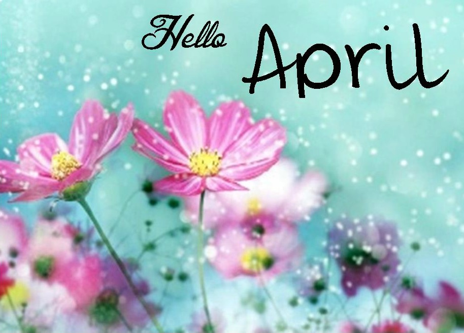 Hello april facebook cover pictures