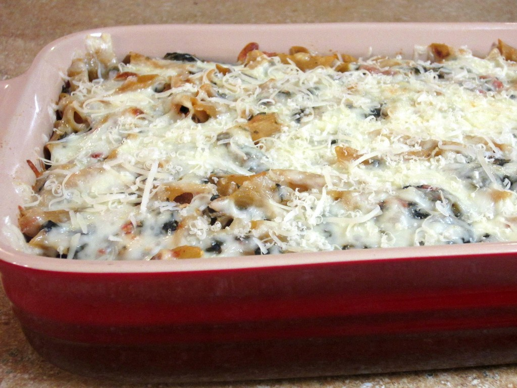 ... ragu low fat baked ziti with spinach recept yummly 10 best baked ziti