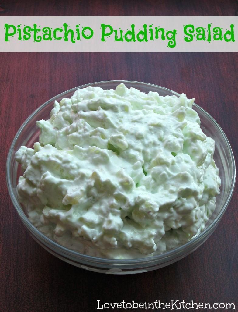 Pistachio Pudding Salad