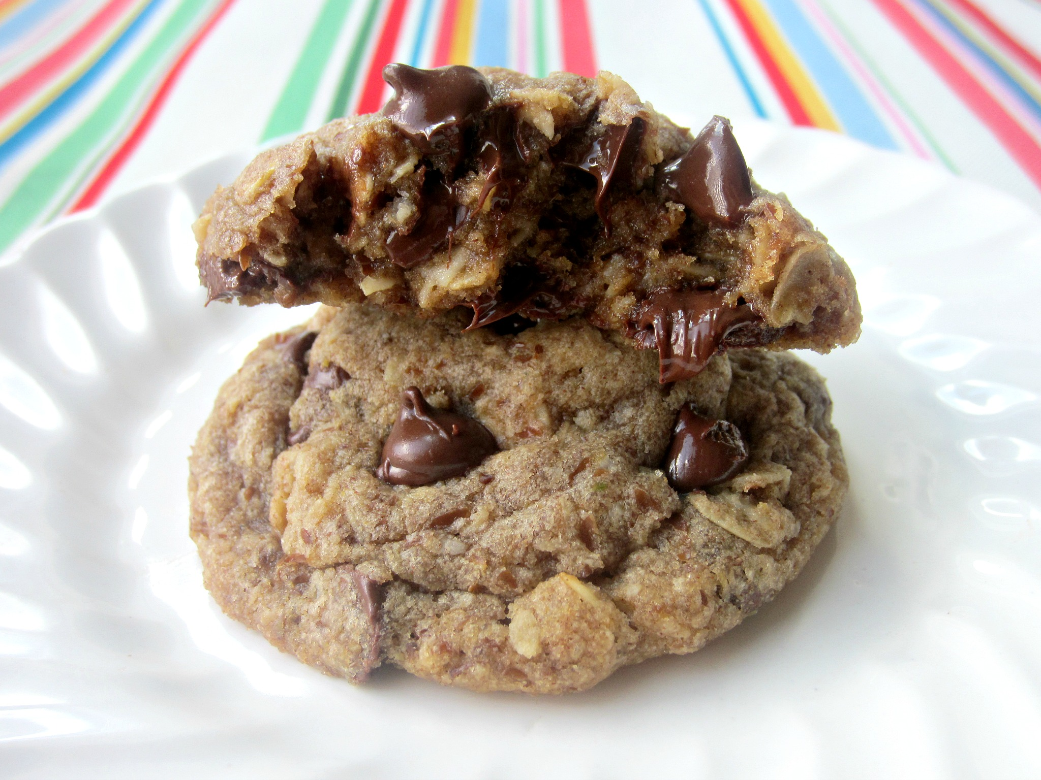 Recipe for flaxseed oatmeal cookies