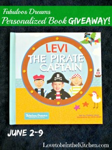 Fabuloos Dreams Personalized Books Giveaway!
