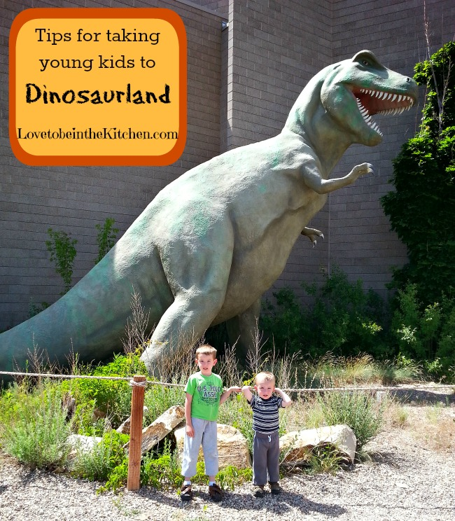 Tips for Taking Young Kids to Dinosaurland