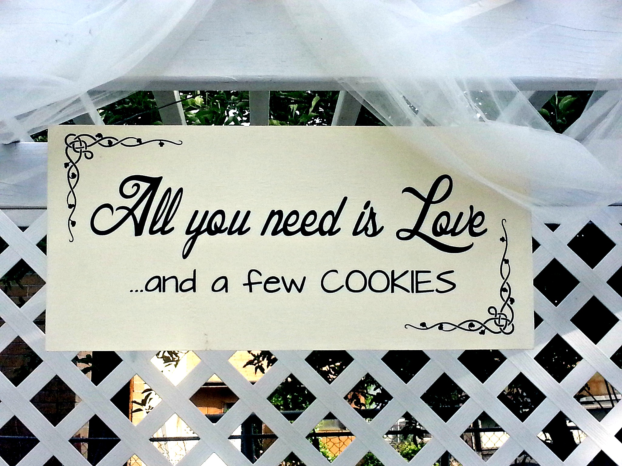 Wedding Reception Cookie Bar - Love to be in the Kitchen