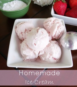 Homemade Ice Cream Without an Ice Cream Maker!