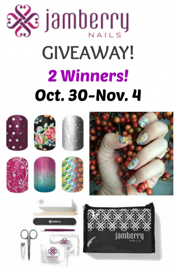Jamberry Nails Giveaway - Love to be in the Kitchen