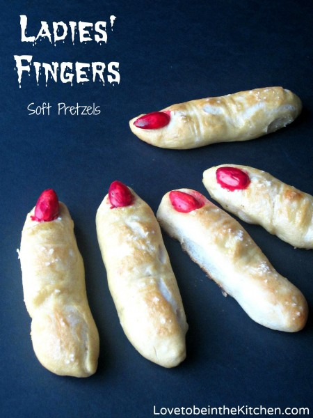Ladies' Fingers- Soft Pretzels