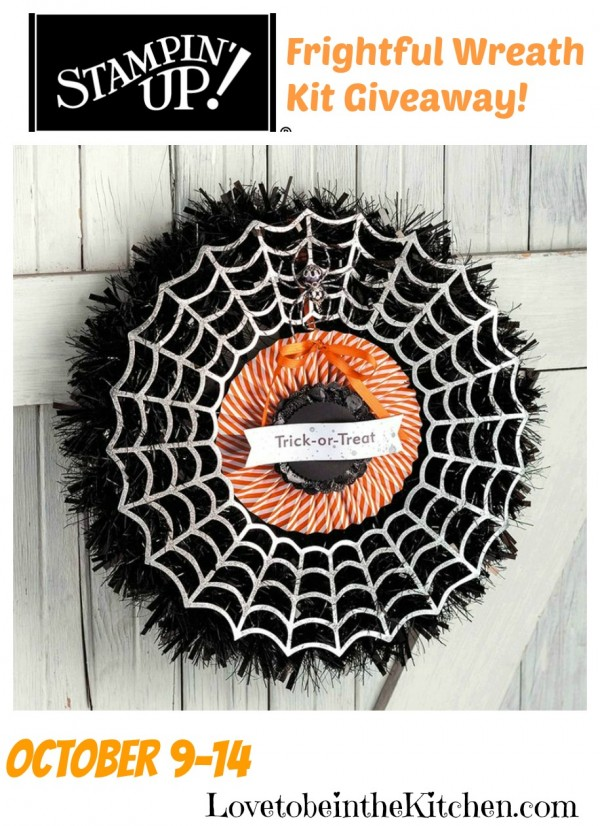 Stampin' Up! Frightful Wreath Kit Giveaway!