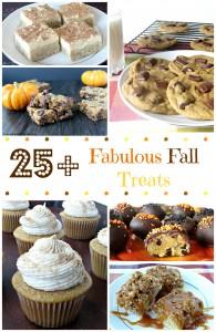 25+ Fabulous Fall Treats