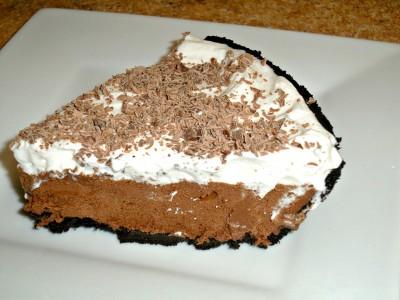 Perfect Chocolate Silk Pie